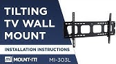 Tilting Tv Wall Mount Bracket 30 63 Installation Guide 17 300 268 Youtube