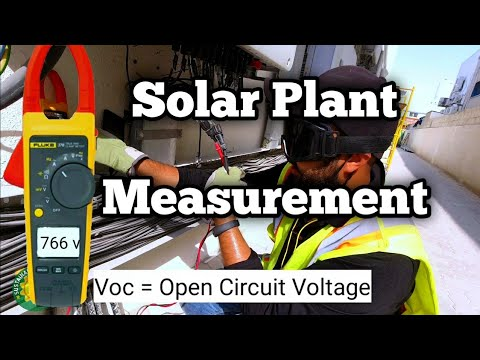 Solar Plant Measurements | Voc | Isc | Vmp | Imp | +ve to earth -ve to earth from YouTube · Duration:  11 minutes 35 seconds