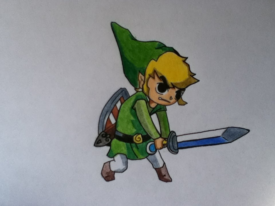 Image Result For Easy Drawing Zelda