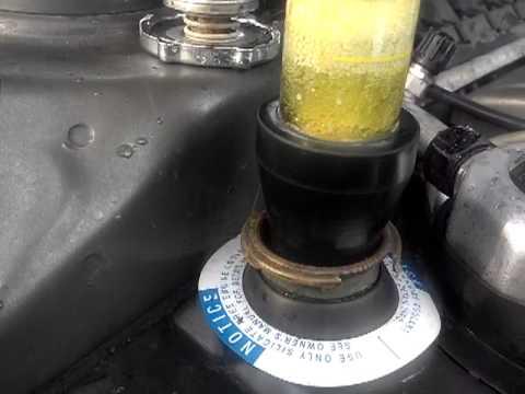 northstar exhaust gas in coolant fluid change test