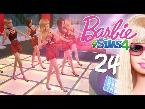 The Sims 4 Barbie #24 สาวชุดแดงในยามราตรี