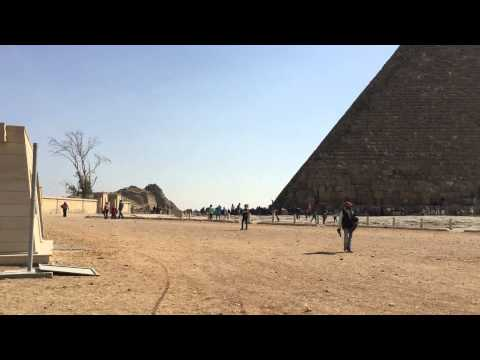 Egypt the Pyramids of Giza 2015 March Cairo HD