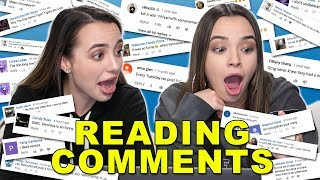 Reading Comments - Merrell Twins