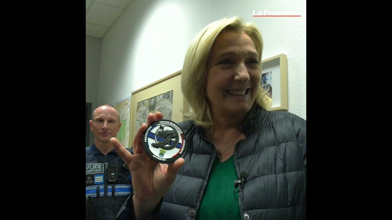 Download Le Pontet : Marine Le Pen en patrouille de nuit avec la police municipale