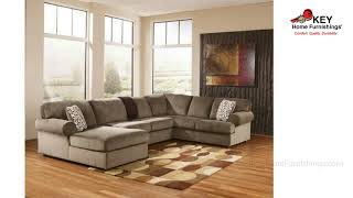 Ashley Jessa Place 3 Piece Sectional 39802L3 | KEY Home