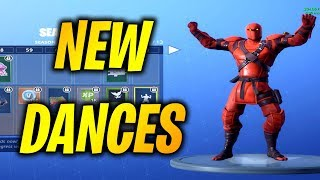 TOUS LES SKINS DE NEW , DANCE/EMOTES SEASON 8! SHOWCASING -NOUVEAU SAISON 8 BATTLE PASS EN FORTNITE