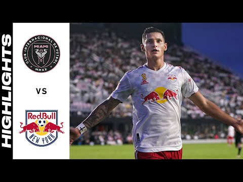 Inter Miami New York Red Bulls Goals And Highlights