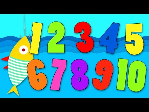 1 2 3 4 5 Once I Caught A Fish Alive Nursery Rhymes Learn Numbers with Play Doh Aprender Jugando