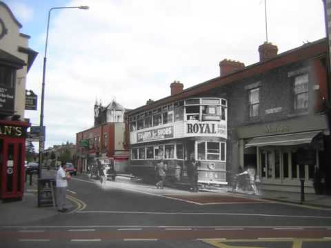 Then And Now   - Terenure, Dublin, Ireland.