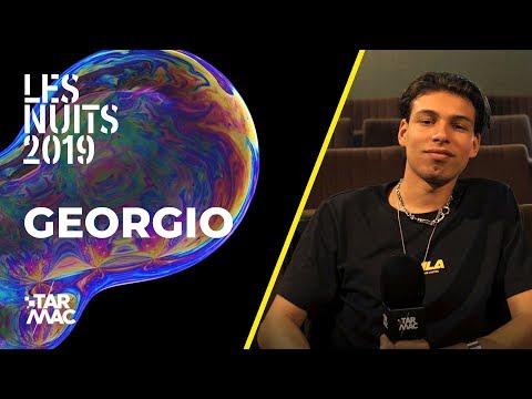 """Youtube: Georgio: """"D'un point de vue musical, je me suis vachement lâché"""" • Portrait (Les Nuits 2019)"""