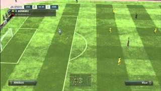 FIFA13 Pumas Vs America Gameplay Comentarios Fernando Palomo y Kempes