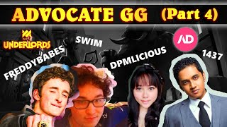 Semi Finals Here We Come AdvocateGG Underlords Tournament Part 4