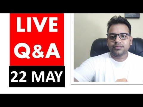 Live Q & A 22 May Current Affairs Funda