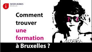Comment trouver une formation à Bruxelles ?