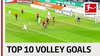 Top 10 Volley Goals 2018-19 So Far - Robben, Witsel, Jovic & Co Video