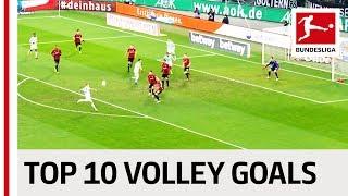 Top 10 Volley Goals 2018-19 So Far - Robben, Witsel, Jovic & Co