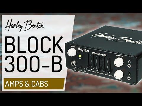 Harley Benton - Block-300B - Bass Amp -