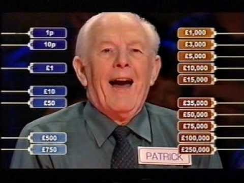 Deal or no Deal 12 March 2007 Patrick