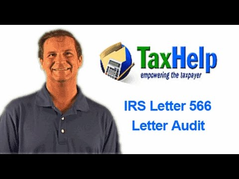 irs letter 566 irs audit