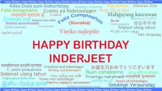 Inderjeet   Languages Idiomas - Happy Birthday