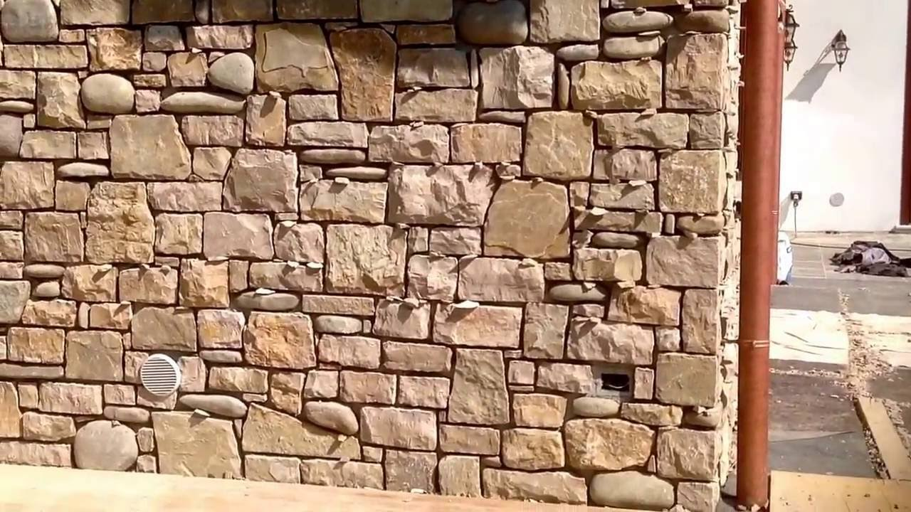 Rivestimenti in pietra naturale per esterni muri in pietra e ville in pietra youtube - Pietre da esterno per rivestimento ...