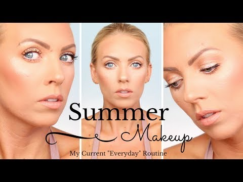 MY EVERYDAY SUMMER MAKEUP ROUTINE | Natural Glam & Glowy
