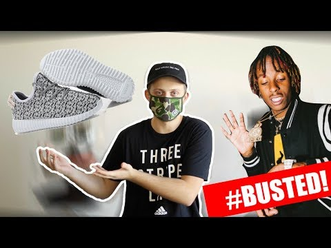 d82d40baaeec0 YEEZY BUSTED!  RICH THE KID  - Getplaypk