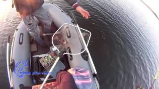 Рыбалка с лодки после запрета 2016(Первый выход на воду после запрета! Рыбалка вертушкой поклевка амур белый виброхвост апреле августе..., 2016-06-12T10:02:07.000Z)