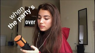 when the party's over - Billie Eilish (Cover)