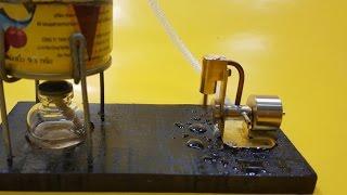 Cara membuat Boiler Sederhana untuk menggunakan Steam Engine