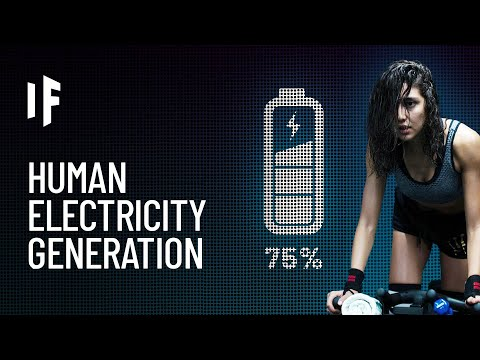 What If We Generated Electricity With Our Bodies?