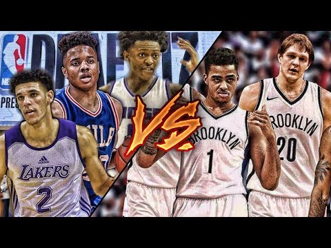 Can a Team of ROOKIES Beat the BROOKLYN NETS?