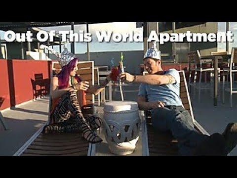 Tour Acrobat Moorea Wolf's Open Condo - HGTV
