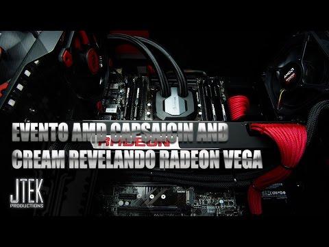 Tek en directo: Evento AMD CAPSAICIN AND CREAM REVELANDO RADEON VEGA retransmicion en español