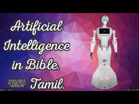Artificial Intelligence in Bible | Tamil.