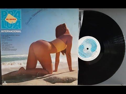 De Quina Pra Lua - Trilha Sonora Internacional - Vinil Completo - 1985 - Baú al