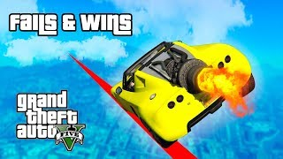 GTA 5 FAILS & WINS #6 (Best GTA V Funny Moments Compilation)