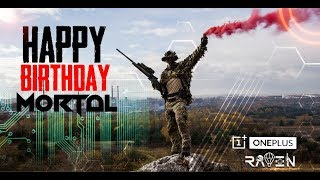 PUBG MOBILE LIVE |  Happy Birthday Chomu | Powered by OnePlus