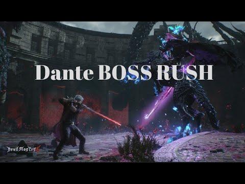 Devil May Cry 5 - Dante BOSS RUSH (Free Style)-