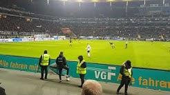 Eintracht Frankfurt 19.02.18 Proteste / Tennisbälle /  Anti Montag Spiel