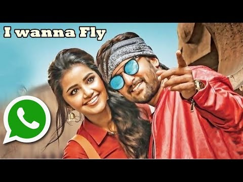 I Wanna Fly Song Whatsapp status| Krishnarjuna Yuddham | Hiphop Tamizha |