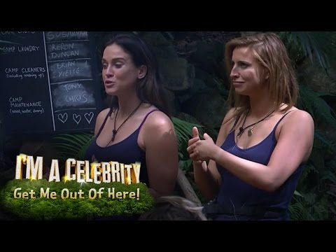 Vicky Pattison & Ferne McCann Send Campmates To Snake Rock | I'm A Celebrity... Get Me Out Of Here!