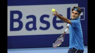 Roger federer vs benoit paire basel 2012 qf hd highlights