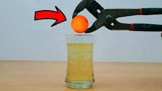 EXPERIMENT Glowing 1000 Degree METAL BALL vs HONEY (Amazing reaction and Sound)