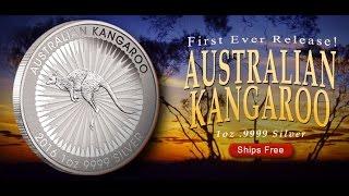 first year of issue 2016 p australian kangaroo 1oz 9999 silver bu