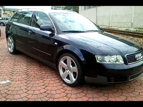 audi a4 1 9 tdi 130 cv 2002 youtube. Black Bedroom Furniture Sets. Home Design Ideas