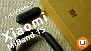 Распаковка Xiaomi MiBand 1S [4K]