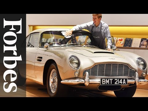 Aston Martin Remaking The DB5; Serena Williams Nets $18.1 Million | Forbes Flash