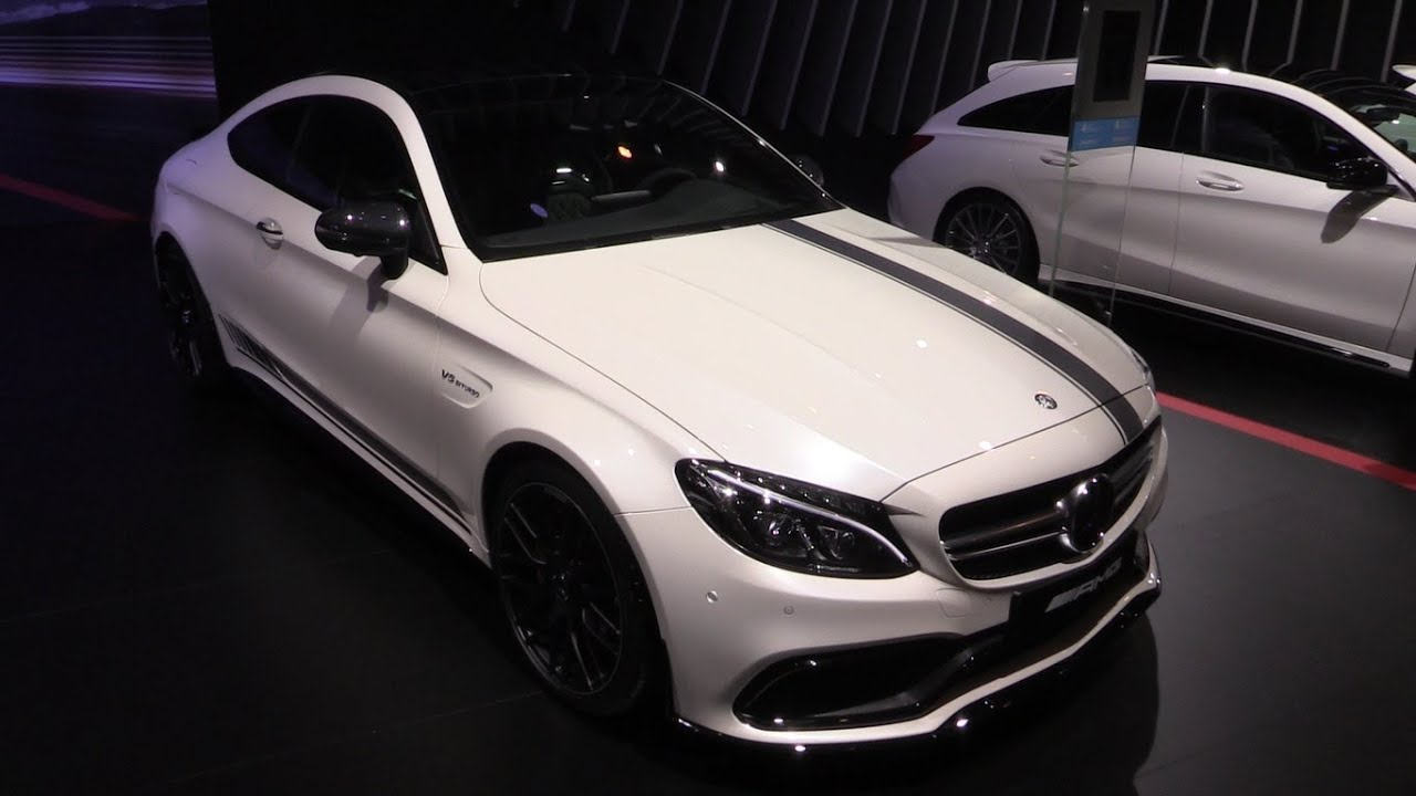 2016 Mercedes Benz C63 S Amg Coupe Edition 1 In Depth