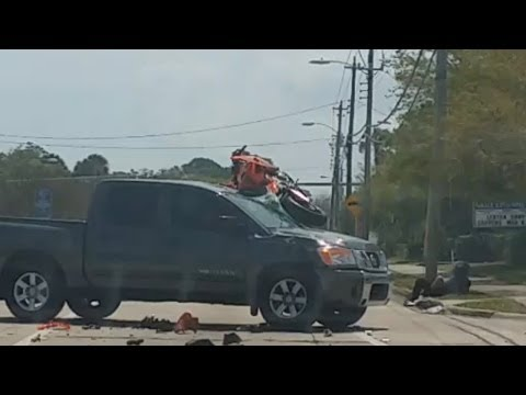 Motorcycle Accident - 28 March 2014 - Port Orange, Florida